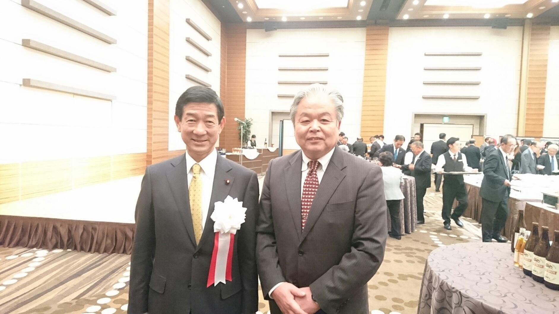 伊藤信太郎衆議院議員にお会いしました。: 画家 佐藤皇季 Official Blog