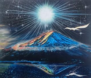 2018年2月7日Super Miracle Mt.Fuji.JPG